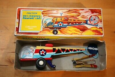Tin Toy, Helicopter, Friction, S.K. MF334, Blechspielzeug Helikopter