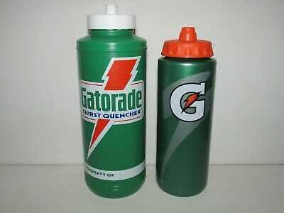 3f4a091b8b Vintage 1985 Green Plastic GATORADE Sports Drink Squirt Water Bottle + 20 oz