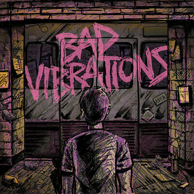 A Day To Remember - Bad Vibrations LP - Black Vinyl Album - SEALED Record
