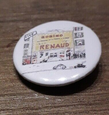 Badge 32mm Renaud n°37
