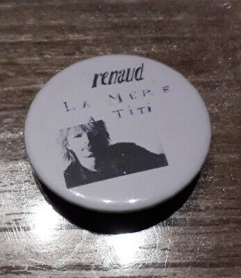 Badge 32mm Renaud n°39