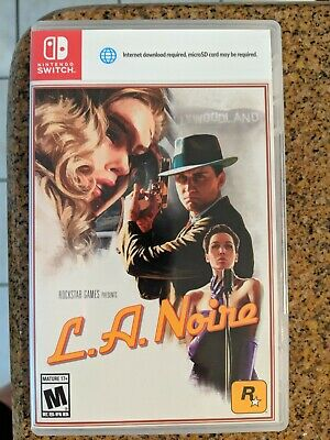 L.A. Noire (Nintendo Switch, 2017), Excellent Condition, Free Shipping