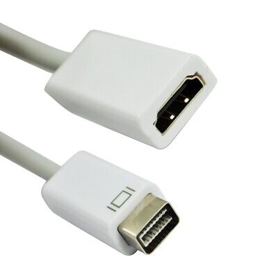 Mini DVI Male to HDMI Female Video Adapter Cable AD-MDVI-HDMI R3I6