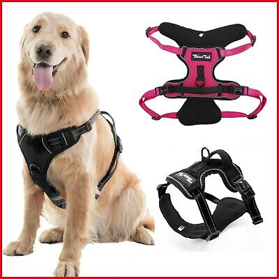 Adjustable Vest Harness No Pull Dog Pet Leash Durable Safety Control Breathable