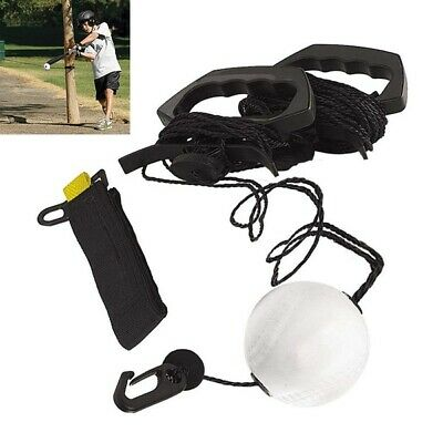 Hot Zip-N-Hit Baseball Softball Hitting Aid - Swing Training - Batting Trainer