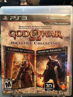 God of War: Origins Collection (Sony PlayStation 3, 2011) *No Manual*