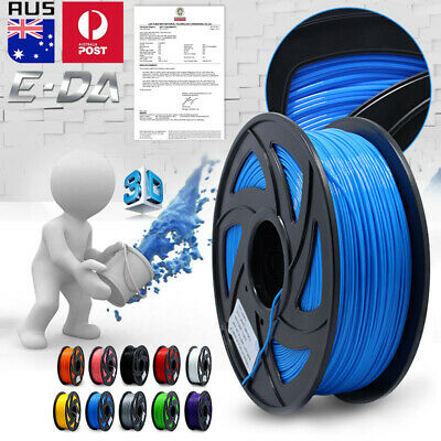3D Printer Filament PLA/ABS 1.75mm 1KG No Air Bubbles Accuracy +/- 0.03mm Spool