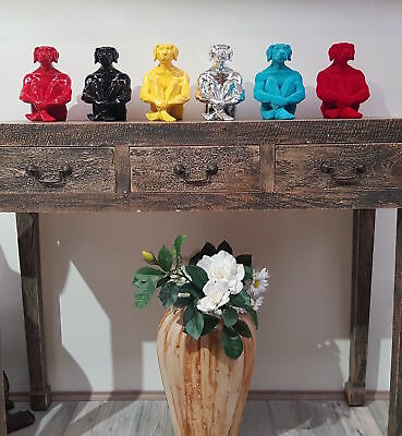 GILLIE AND MARC. Direct from artists. Authentic resin sculpture Mini Dog Black