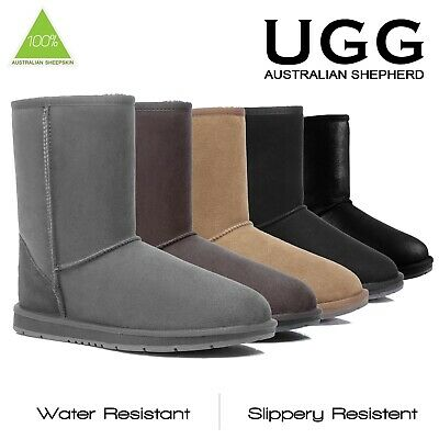 Ugg Boots Sheepskin Classic Short Outdoor Australian Mens Ladies Size 35-44 EU