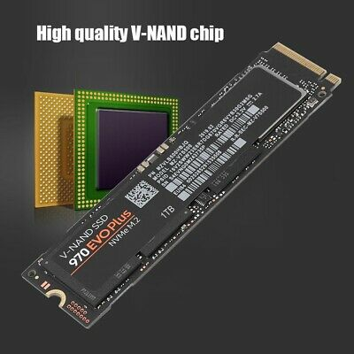 970 Evo Plus Internal PCI-E Solid State Drive NVMe M.2 V-NAND SSD For PC/Laptop