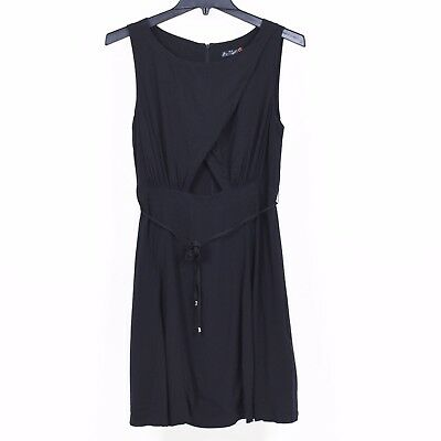 Do Be Womens Pink Cut-Out Asymmetric Crepe Cocktail Dress XS BHFO 4553