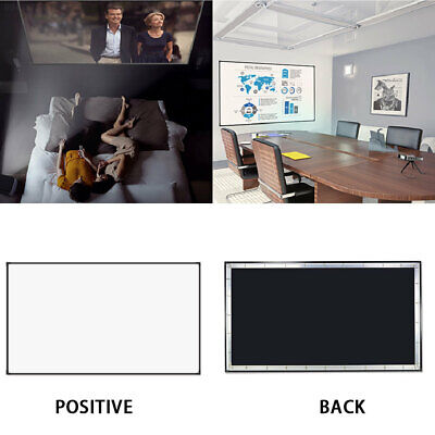 B6A2 Portable Weddings Office Lobbies Shadow Puppets 4:3 Projector Curtain
