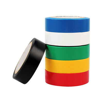 PVC Electricians Tape Electrical Insulation Tape 15mm*10M Colourful Waterproof