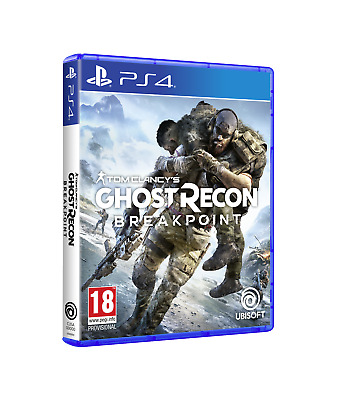 Tom Clancy's Ghost Recon Breakpoint  Ps4  Pal  ( Release  04 Oct 2019)
