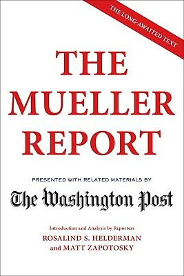The Mueller Report by The Washington Post 2019 Paperback, FREE SHIPPING