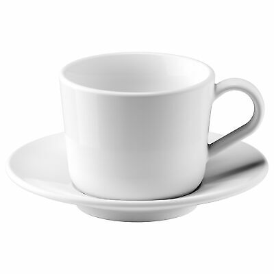IKEA 365+ Tableware Coffee tea Mugs cups Cup with saucer white 13 cl