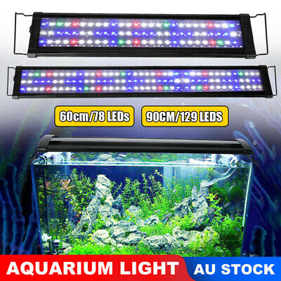 Aquarium Light Lighting Full Spectrum LED Aqua Coral Plant Fish Tank Marine Lamp
