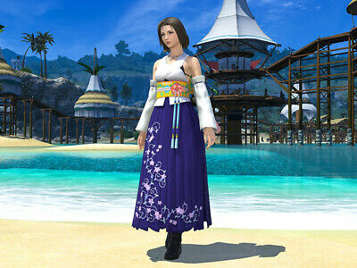 FINAL FANTASY XIV FFXIV FF14 Item Character High Summoner's Attire / Code