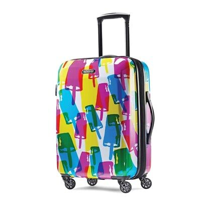 """American Tourister Moonlight 21"""" Spinner Carry On Luggage"""