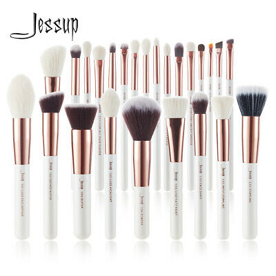 JESSUP Makeup Brush Set 25PCS Professional  Foundation Face Contour  Rose Gold