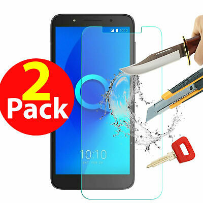 For Alcatel 1X 3X 3V A5 LED Pixi Tempered Glass Screen Film Protector Front