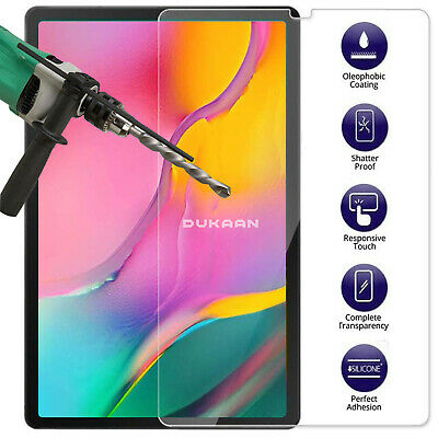 """TEMPERED GLASS Screen Protector Film For Samsung Galaxy Tab A 10.1"""" SM-T515 T510"""