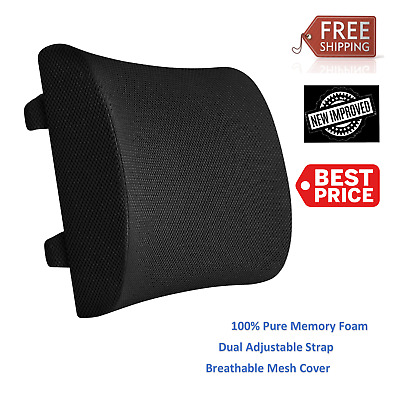 Lumbar Support Back Cushion Cool Mesh - Posture Corrector - Fit Most Seats