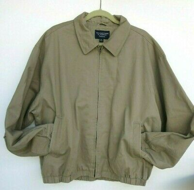 7d270eadd ROUNDTREE & YORKE Outdoors Men's Full Zipper Jacket Size XL Beige ...
