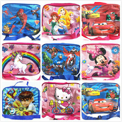 Clearance Insulated Lunch Pack Bag With Shoulder Strap Kids Boys Girls Faulty