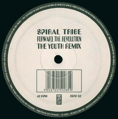 Spiral Tribe - Forward The Revolution (The Youth Remix) (Vinyl)