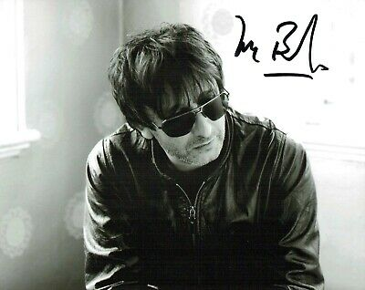 Ian BROUDIE The Lightning Seeds SIGNED Autograph 10x8 Photo 3 AFTAL COA 3 Lions