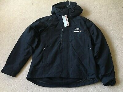 Hebo Scorpa Official Paddock Fleece Lined Casual Trials Jacket Black Size Large