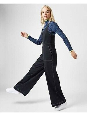 Sweaty Betty Chrissy Retro Black All In One Jumpsuit Size S SB1334-B10