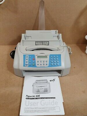 Vintage BT PaperJet 60E Fax & Answering Machine
