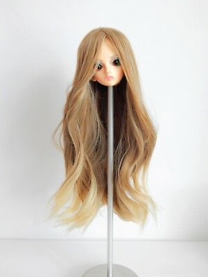 7-8 inch head Wig for doll Outfit BJD 1/4 MSD dress