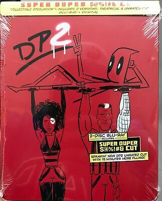 Blu-Ray Disc: Deadpool 2 ( Blu-Ray +Digital) Super Duper Cut SteelBook