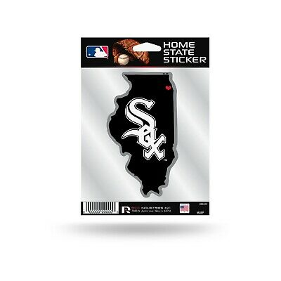 Chicago White Sox Home State Sticker Flat Vinyl Die Cut Decal Auto Home Baseball