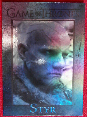 GAME OF THRONES - STYR - Season 4 - FOIL PARALLEL Card #83