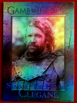 "GAME OF THRONES - SANDOR ""THE HOUND"" CLEGANE - Season 4 - FOIL PARALLEL Card #48"