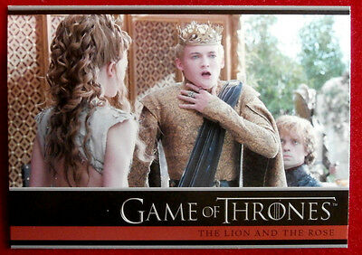 GAME OF THRONES - Season 4 - Card #06 - THE LION AND THE ROSE - Rittenhouse 2015