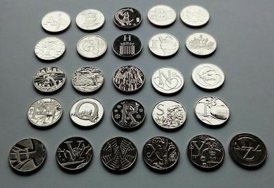 ALPHABET 10p A-Z COINS 2019 COMPLETE FULL SET 26 x10p COINS One of Cheapest Ebay