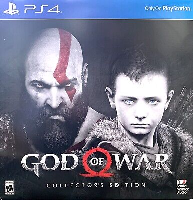 God of War Collectors Edition PS4) New Sealed Uncut (Quick Delivery)