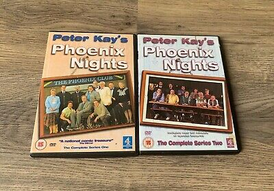 Peter Kay's Phoenix Nights The Complete First & Second Series DVD Bundle