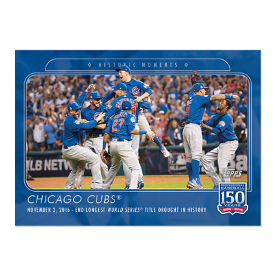 2019 Topps 150 Years of Baseball #32 Chicago Cubs