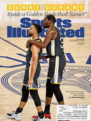 Sports Illustrated May 2019 - Steph Curry, Kevin Durant - Golden State Warriors