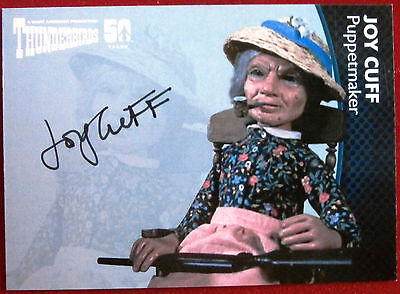 THUNDERBIRDS 50 YEARS - Joy Cuff, Puppetmaker, Autograph Card - JC - Unstoppable