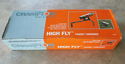 Champion High Fly Manual Clay Target Thrower Trap Skeet #40901