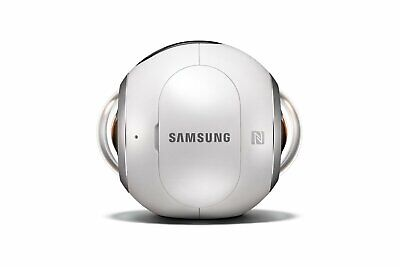 Samsung Gear 360 Immersive Cam High Res Video Photo Camera BONUS SD CARD