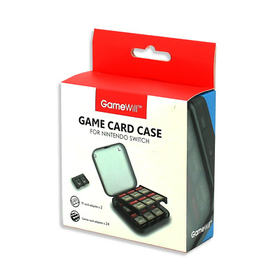 GameWill 24 Game Card Case for Nintendo Switch NEW
