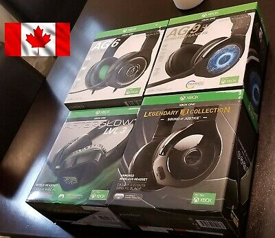 PDP Afterglow Gaming Headset Xbox One LVL 3 /  AG 6 / AG 9 + / Sound Of Justice